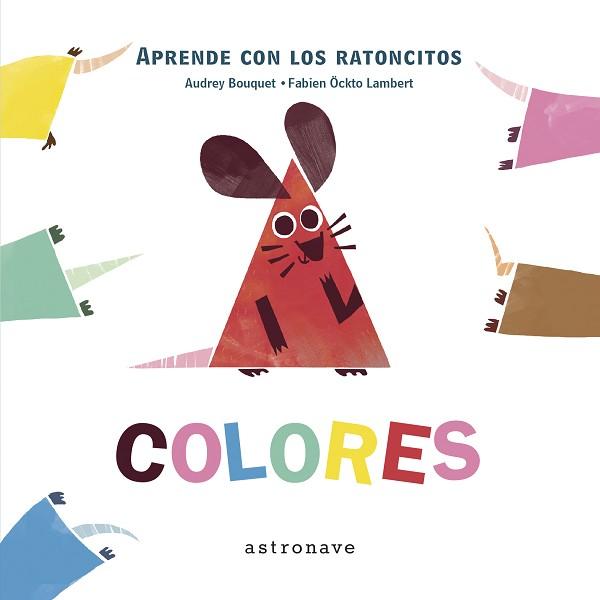 Aprende con los ratoncitos. Colores