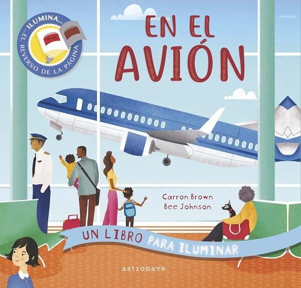 En el avion. Un libro para iluminar