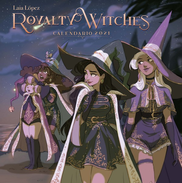 Calendario Royalty Witches