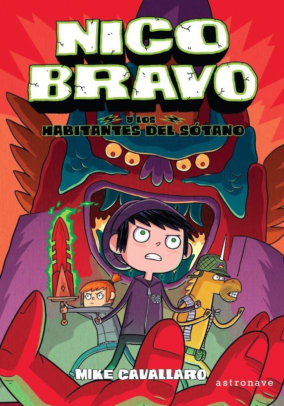 Nico Bravo 2. Nico Bravo y los habitantes del sotano