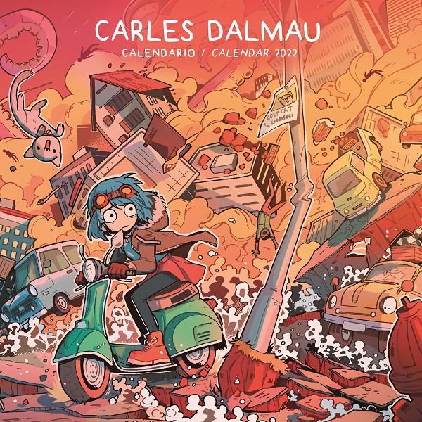 Calendario 2022. Carles Dalmau