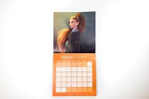 Gleaming Calendario