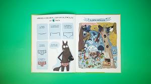 El lobo en calzoncillos. Cuaderno de actividades y juegos absurdos.