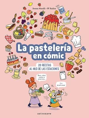 La pastelería en cómic
